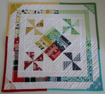 DS Dolls Quilt in its finished state