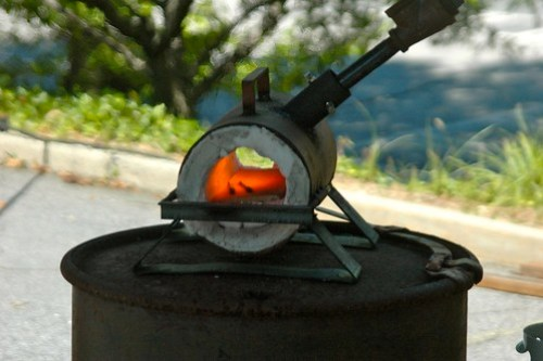 Mini blacksmith's forge