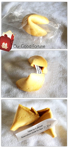 Fortune Cookie Announcement