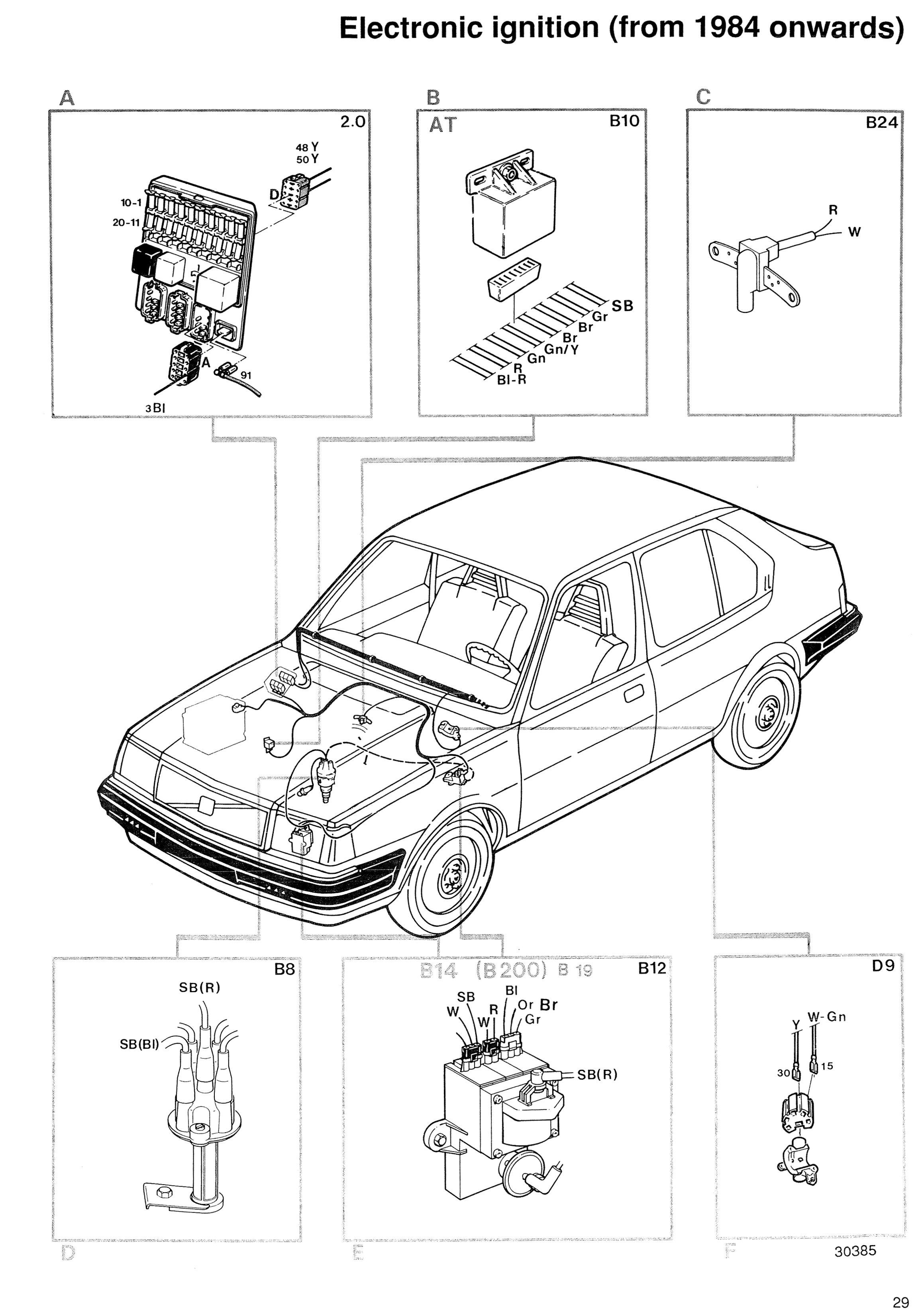 1998 volvo s90 wiring diagram
