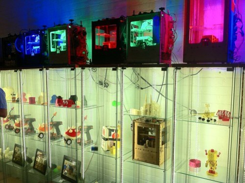 Makerbot's new gallery