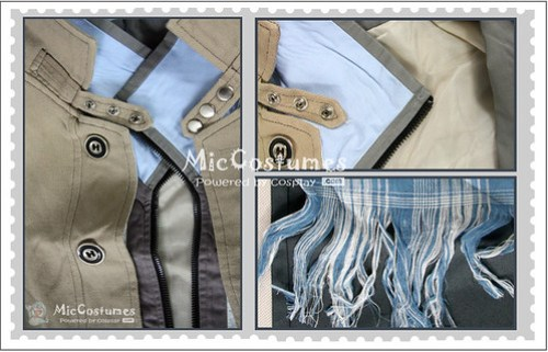 Final Fantasy XIII Snow Villiers Cosplay Costume1
