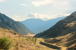 Hills leading down into the lovely, incomparable Similkameen Valley