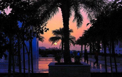 Abu Dhabi - United Arab Emirates Sunrise Sunset Times