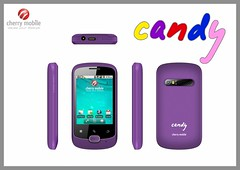 Cherry Mobile Candy - violet