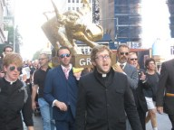 Click for info & video on Occupy Golden Calf