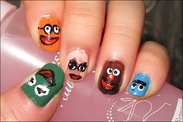 Nail Art Tutorial The Muppets Show
