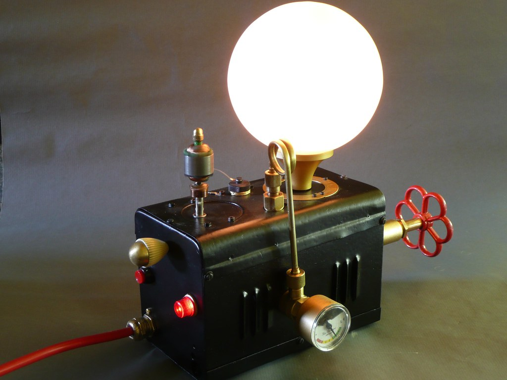 Lampe Kupfer Retro The World S Best Photos Of Lampe And Steampunk Flickr Hive Mind
