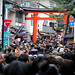 "New year crowd at Inari Jinja - Kyoto - 2012 • <a style=""font-size:0.8em;"" href=""http://www.flickr.com/photos/42979833@N00/6834950013/"" target=""_blank"">View on Flickr</a>"