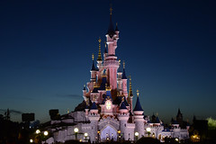 Sleeping Beauty Castle Disney resort Paris [Explored]