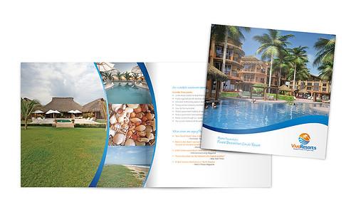 Vivo Resort Brochure Design - a photo on Flickriver