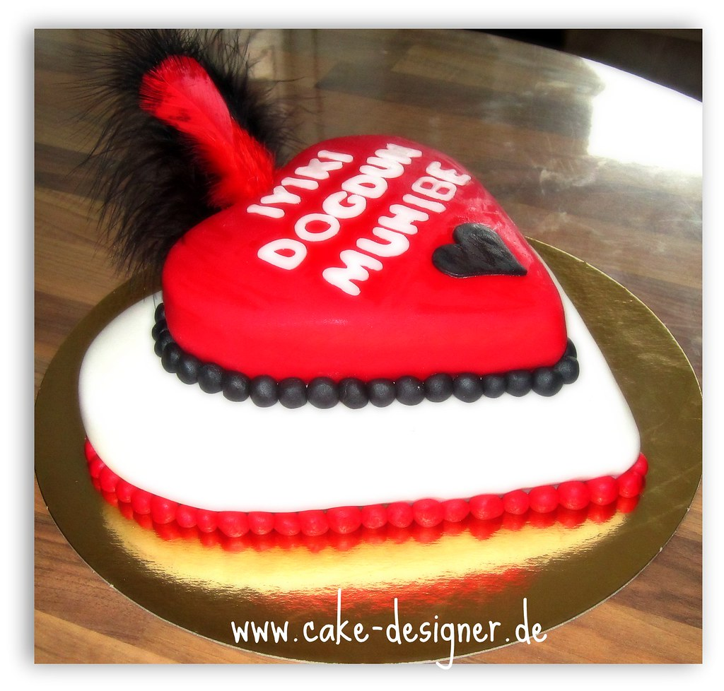 Kuchen Rot Weiß The World S Best Photos By Cake Designer Ulm Flickr Hive Mind