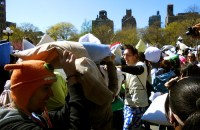 Dispatch from NYC Pillow Fight 2012! - Walks of New York