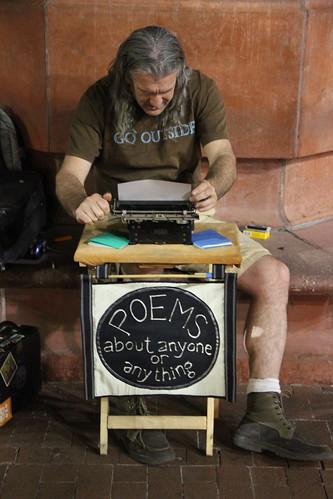 Boulder Mall Poet