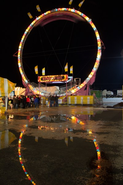 Carnival at Night - San Angelo Rodeo - jcutrer.com