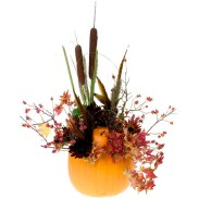 Autumn Pumpkin — David Kesler, Floral Design Institute, Inc., in Portland, Ore.