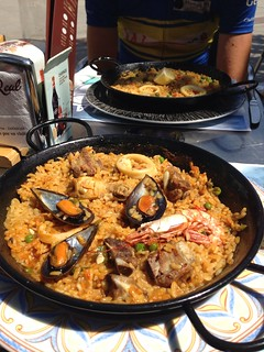 We had paella for lunch... Mmmm