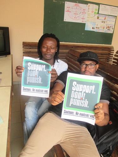Abidjan activists (2)