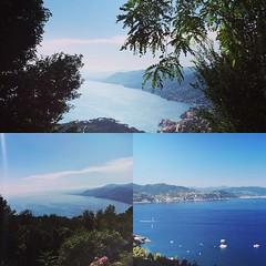 Running on the Monte di Portofino