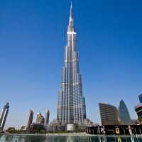 Burj Khalifa, Tallest Building At 828 Metres, Dubai