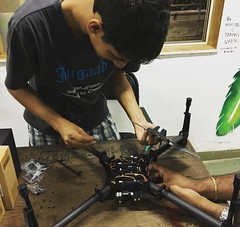 Neil's #Drone in the Making!