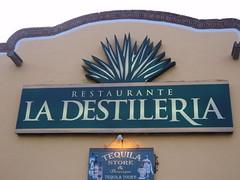 La Destileria Sign