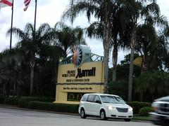 Marriott World Orlando Sign