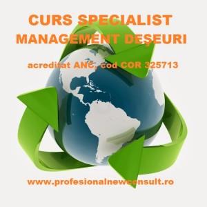 CURS  Specialist în Managementul Deşeurilor ȋn Braşov