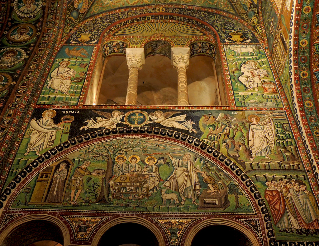 Arte Bizantino San Vitale A Ravenna The World S Best Photos Of Basilica And Bizantino Flickr Hive Mind