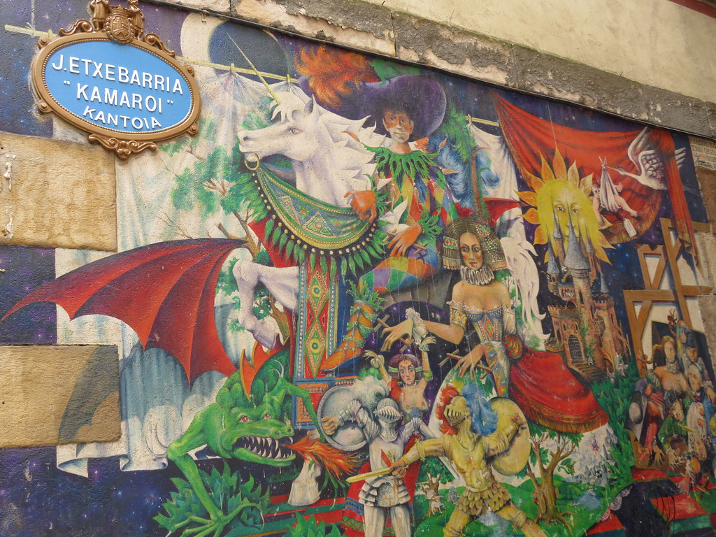 Mural Kamar The World S Best Photos Of Bilbao And Mural Flickr Hive Mind