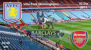 6549135731 8c598078a7 Live and Results: Aston Villa vs Arsenal | BPL | 22 Disember 2011