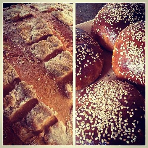 Bread & tsoureki. #GreekEaster