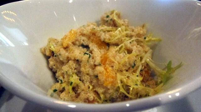 quinoa salad at latitude