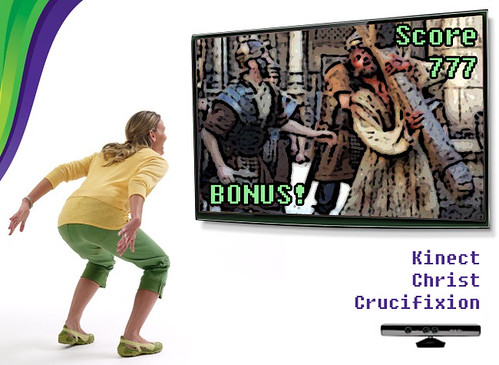 Kinect Christ Crucifixion