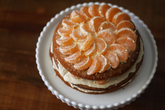 satsuma layer cake, from above