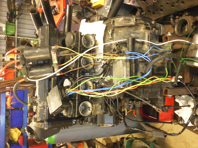 Wiring up a GSX600F motor to a go kart! Archive - DIY Go Kart Forum