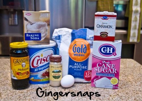 Gingersnap ingredients