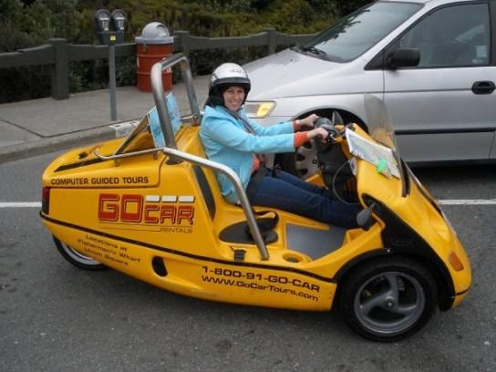 GoCar in San Francisco