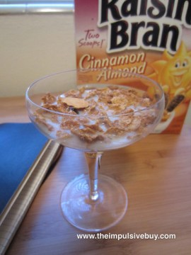 Kellogg's Cinnamon Almond Raisin Bran Glass