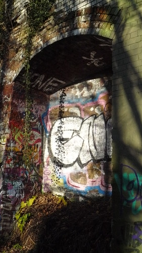 Parkland Walk graffiti