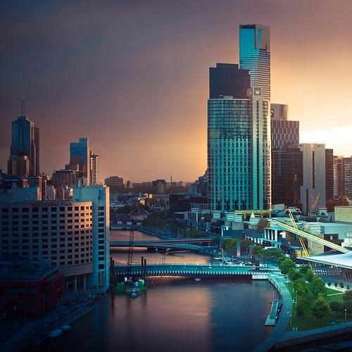 Melbourne City Australia by ►CubaGallery