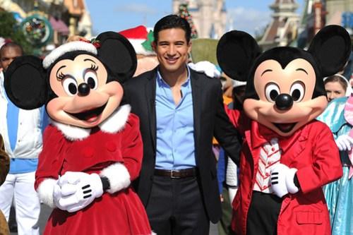 MARIO LOPEZ STARS IN DISNEY PARKS CHRISTMAS DAY PARADE TV SPECIAL