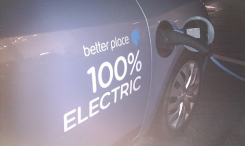 100% Electric - not to be confused with a gas tank.