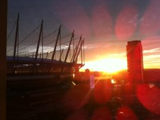 Reader V.C. | BC Place Sunrise | Vancouver, BC | 8:25am