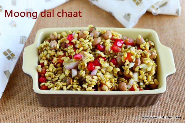 Moong Dal Bhel Chaat