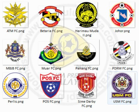 6688513469 d8311861cc Logo Pasukan Bola Sepak Liga Malaysia