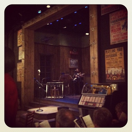 The Set of Always Patsy Cline