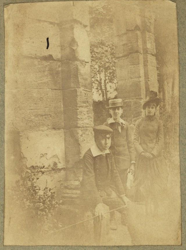 Lot 125 - Marcel Proust au parc Monceau,