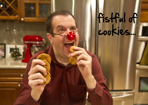 fistful of cookies