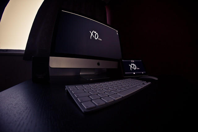 XO Til We Overdose Imac 27 & Ipad2